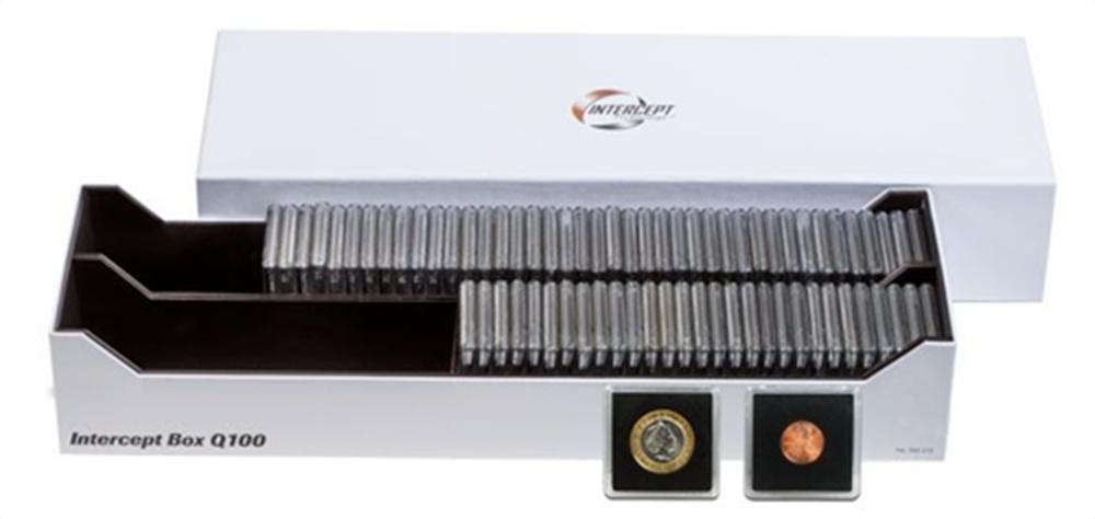 Lighthouse Intercept Box - Holds 100 Snaplocks Lighthouse, Intercept Box , 100 Snaplocks, Q100, coin snaplock box, coin snaplock holder