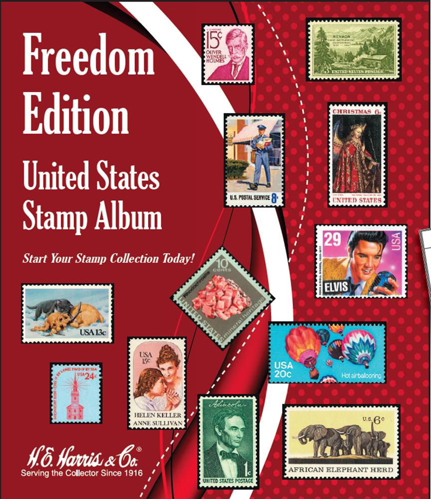 Freedom Edition United States Stamp Album Freedom Edition United States Stamp Album, 079484376X