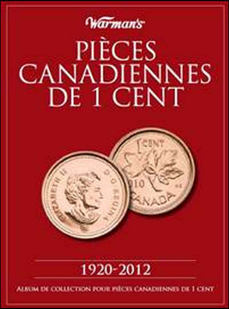 Canadian Cent Folder French Edition Canadian Cent Folder French Edition, U6358