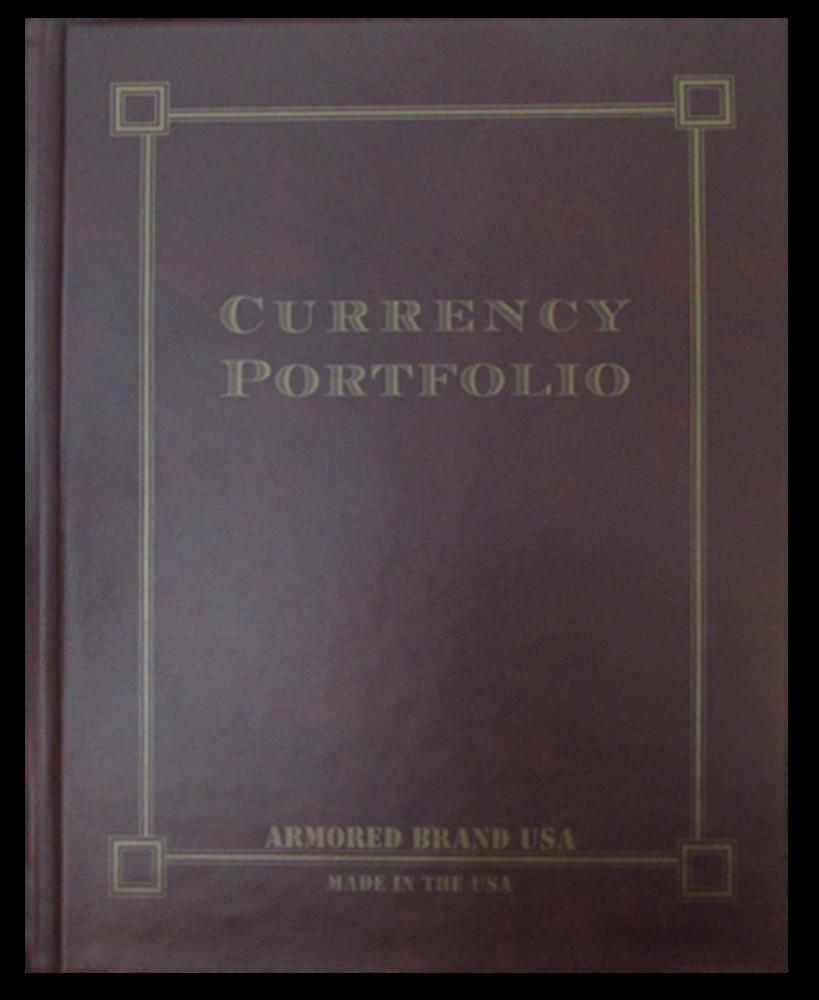 Currency Portfolio- Burgundy Currency Portfolio- Burgundy, Burgundy