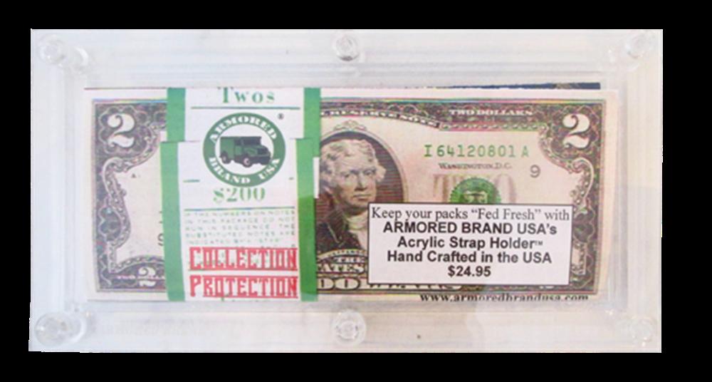 Acrylic Bulk Modern Currency Holder Acrylic Bulk Modern Currency Holder, Bulk Holder
