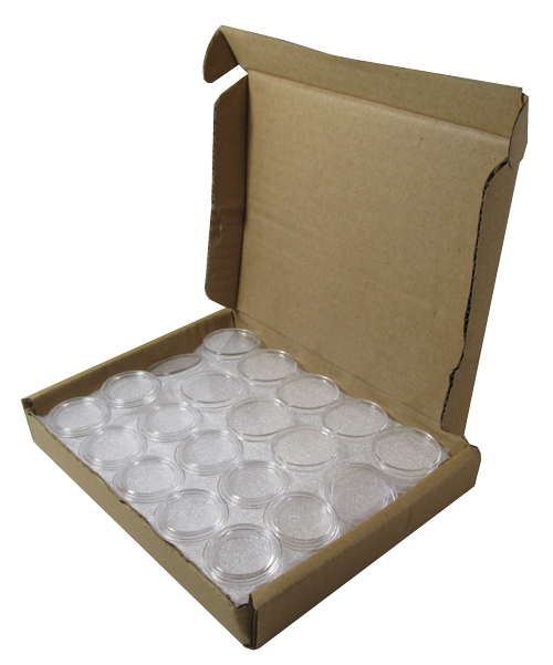 1 oz Gold Eagle bulk 32mm direct fit Guardhouse holders  250 count box