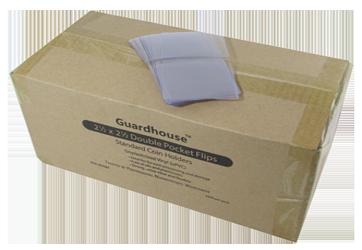 Guardhouse 2.5 x 2.5 Unplasticized Coin Flips - 1000 PK