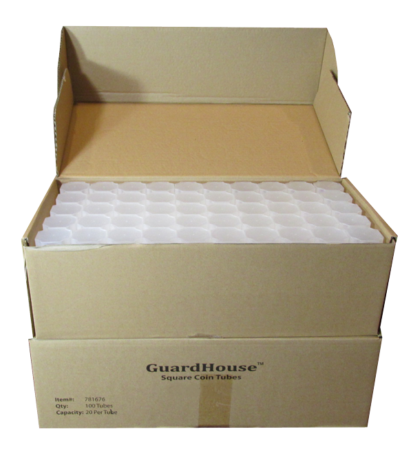 Guardhouse Coin Tubes 100 Pack