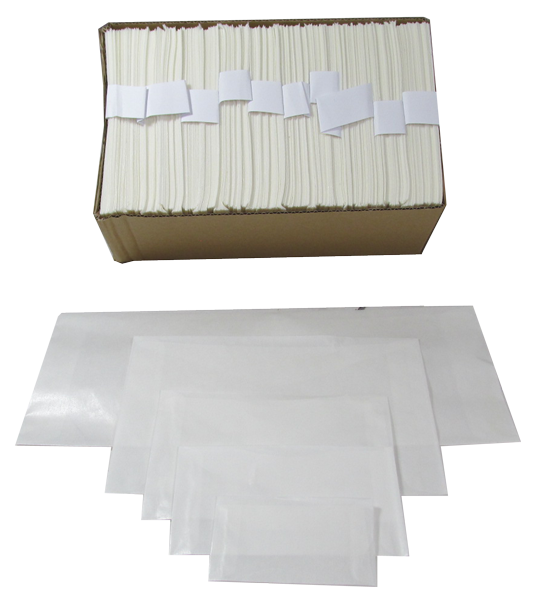 Guardhouse Glassine Semi-Transparent Envelopes