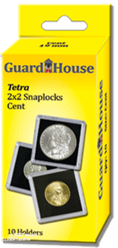 Guardhouse 2x2 Tetra Snaplock Coin Holders