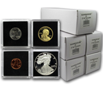 Guardhouse Tetra 25 Packs (all silver & gold bullion) guardhouse, tetra, snap lock, coin holder