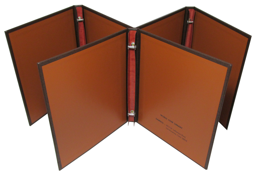 Blank Dansco Coin Album Binder