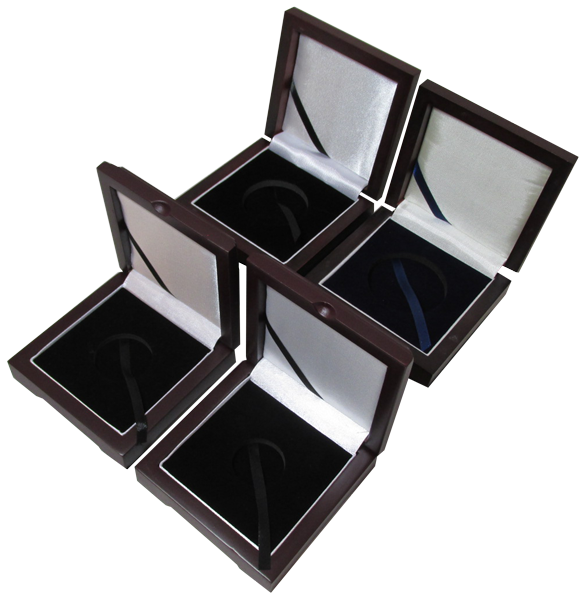 Wood Top Box for Coin Capsule Display