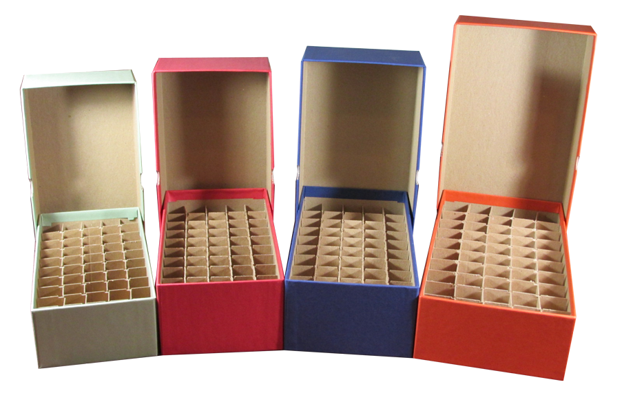 Coin Tube Storage Boxes