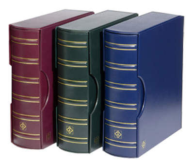 Grande G Classic 4 Ring Binder with 6 ENCAPSLAB Pages - Burgundy