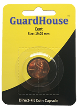 Guardhouse Penny Coin Capsule - Prepackaged