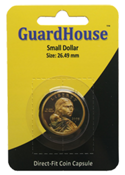 Guardhouse Small Dollar Coin Capsule - Retail Pack