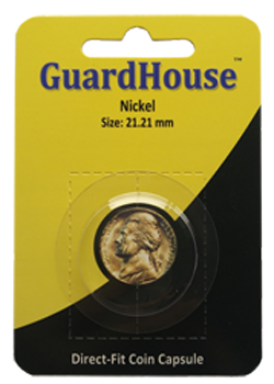 Guardhouse Nickel Coin Capsule - Retail Pack