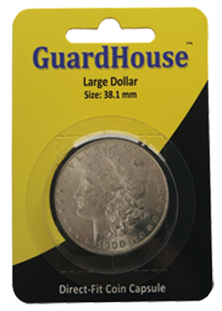 Guardhouse Large Dollar Coin Capsule - Retail Pack