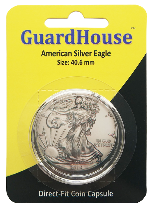 Guardhouse American Silver Eagle Coin Capsule - Retail Pack