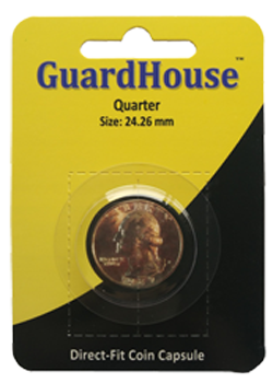 Guardhouse Quarter Coin Capsule - Retail Pack