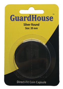 Guardhouse 1 oz Silver Round Coin Capsule - Retail Pack