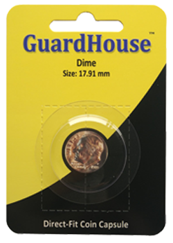 Guardhouse Dime Coin Capsule - Retail Pack