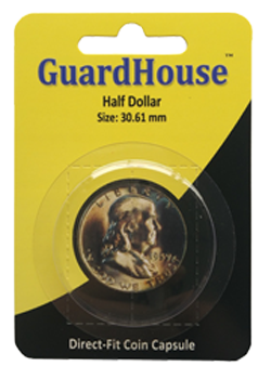 Guardhouse Half Dollar Coin Capsule - Retail Pack