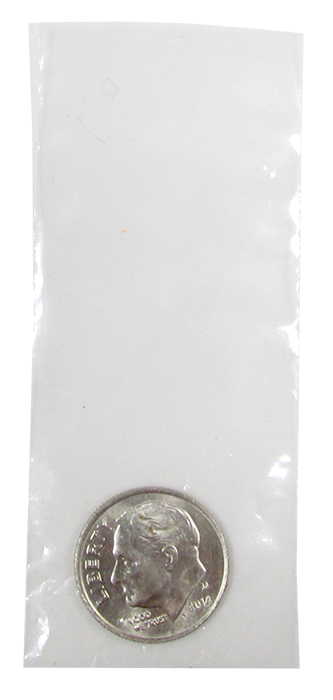 Poly Bags for Penny thru Quarter