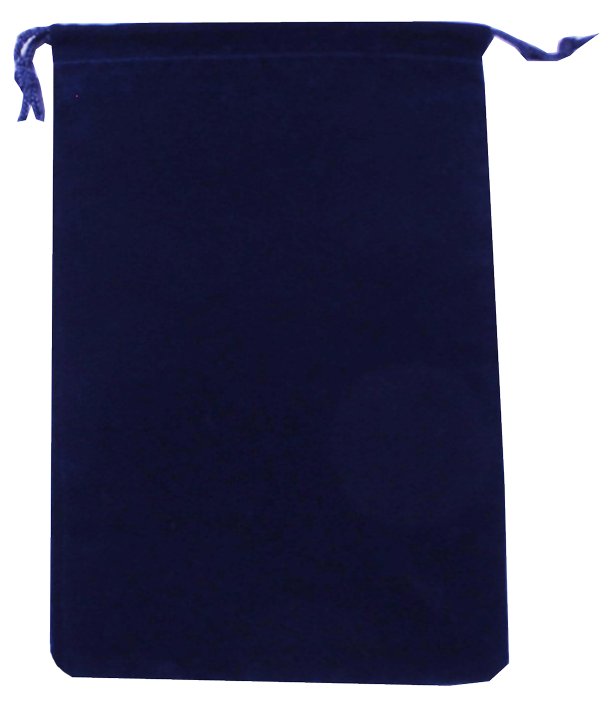 Guardhouse Navy Blue Drawstring Pouch - 5 x 7.5
