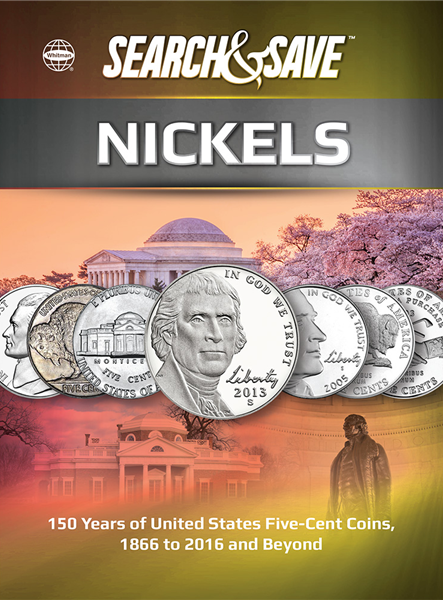 Whitman Search And Save - Nickels