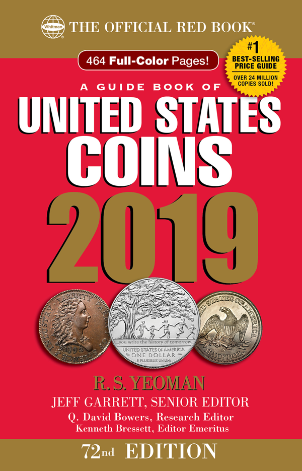 2019 Red Book Price Guide of United States Coins, Hidden Spiral
