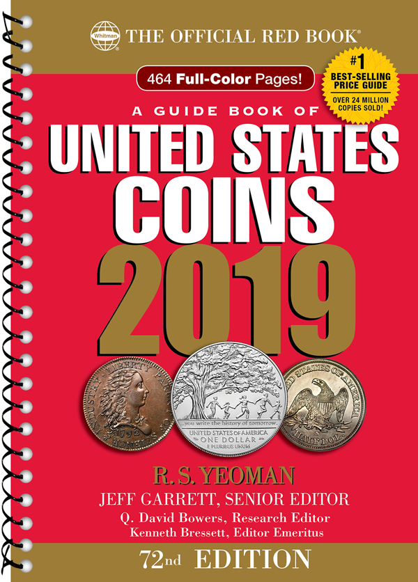 2019 Red Book Price Guide of United States Coins, Spiralbound