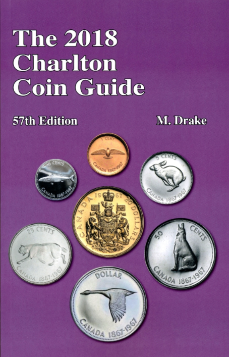 2018 Charlton Coin Guide 57th Edition