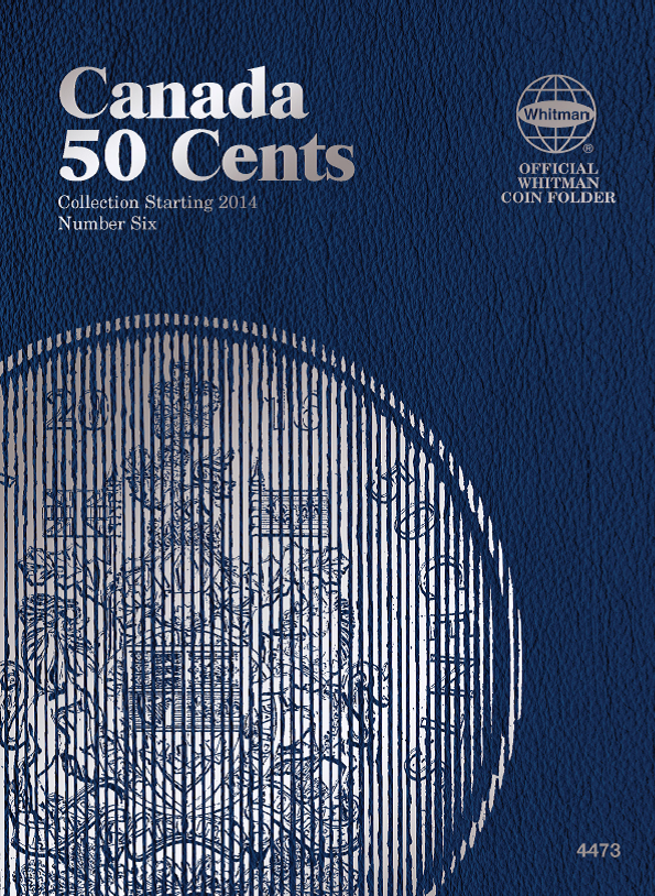Whitman Canadian 50 Cent Coin Folder 2014 - 2018