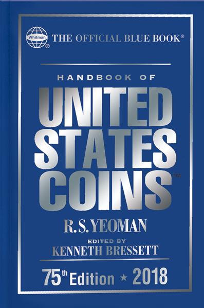 2018 Blue Book, Handbook of US Coins