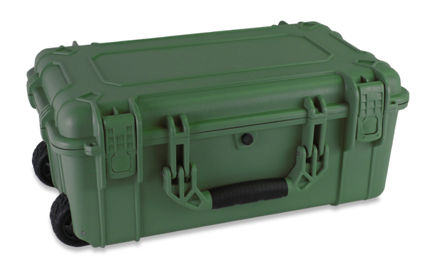 Perfect Coin Dealer Air Travel Case - Green