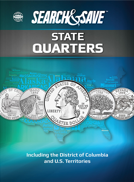 Whitman Search And Save - State Quarters
