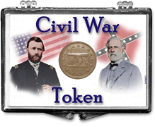 Edgar Marcus Civil War Token 2x3 Holder