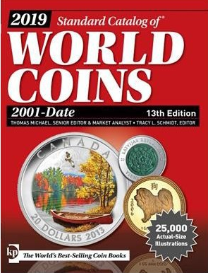 2019 Standard Catalog of World Coins 2001-Date 13th Edition