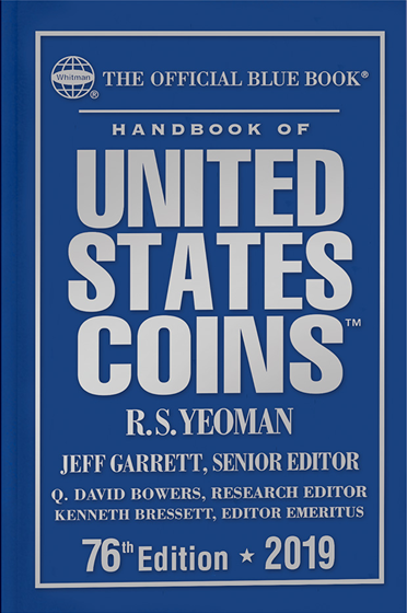 2019 Blue Book, Handbook of US Coins