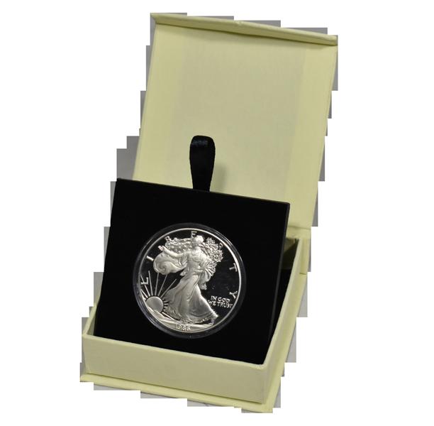 Guardhouse Magnetic Lid Coin Capsule Box ( L ) - Tan