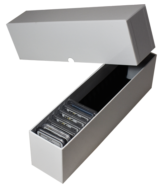 Guardhouse Storage Box for 20 Certified Slabs - White