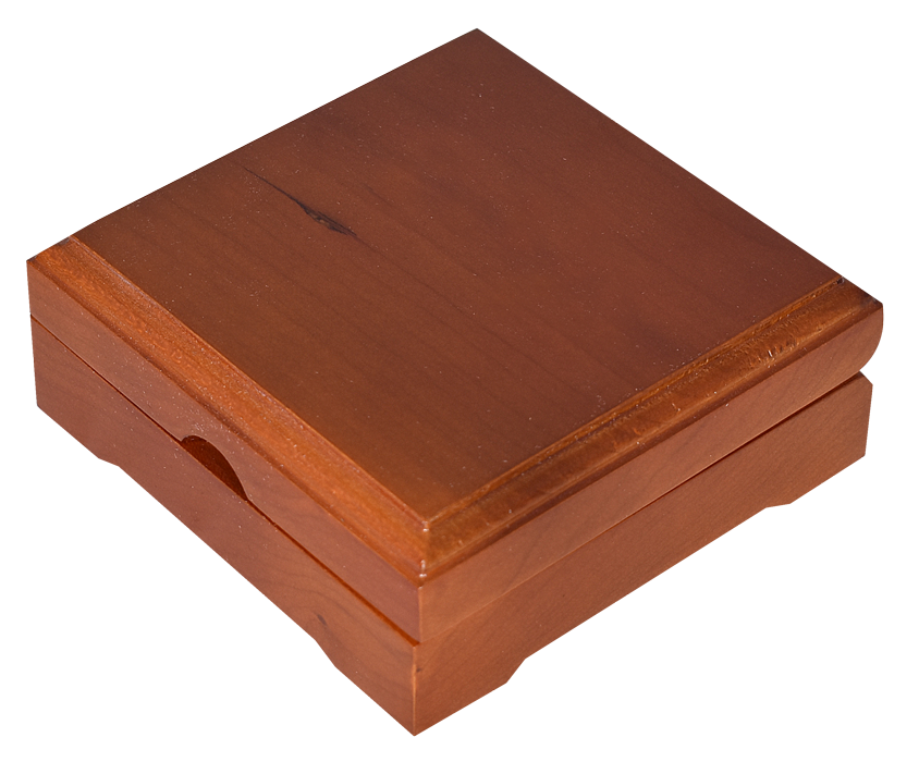 Guardhouse Wood Display Box - For X Sized Capsule - Teak