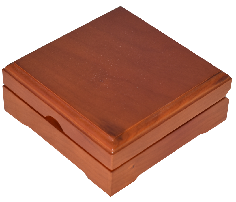 Guardhouse Wood Display Box - For Large Sized Capsule - Teak