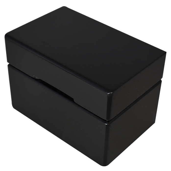 Guardhouse Wood Display Box for 10 Slabs - Matte Black