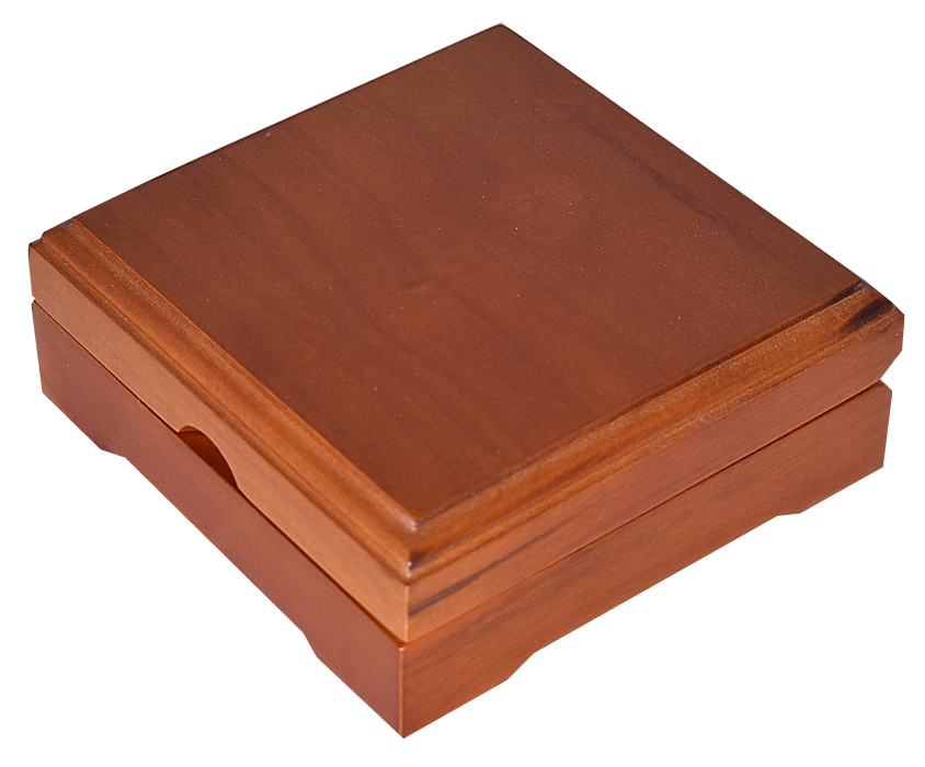 Guardhouse Wood Display Box - For Extra Large Sized Capsule - Teak