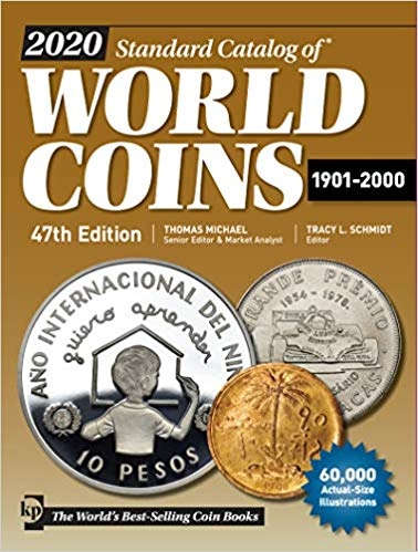 2020 Standard Catalog of World Coins 1901 - 2000 47th Edition