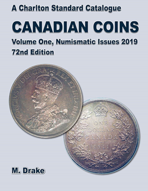 2019 Canadian Coins, Vol 1 Numismatic Issues, 72nd Edition