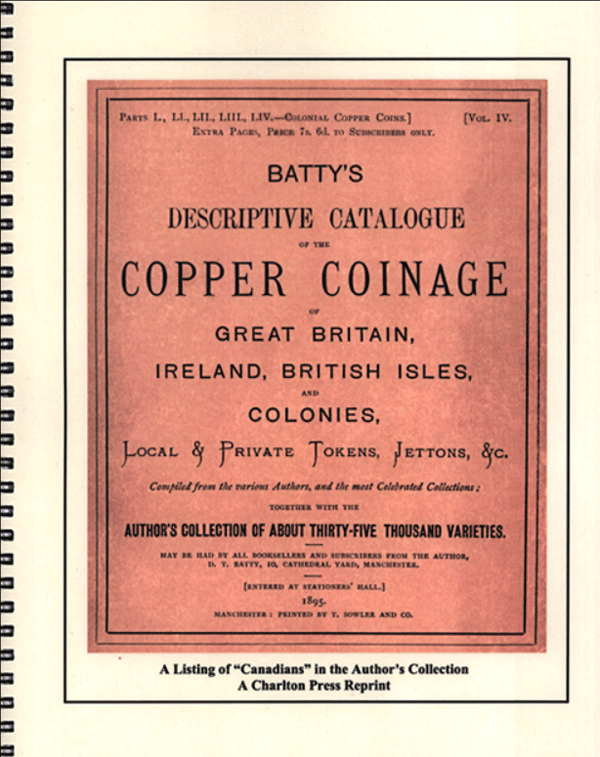 Copper Coinage of Canada 1st Edition