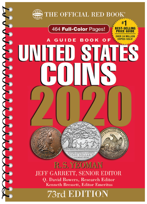 2020 Red Book red book, coin grading guide, 2020 red book, whitman red book