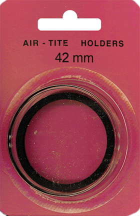 42mm Ring Fit Air Tite Coin Capsule - Black