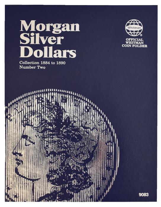 Whitman Morgan Silver Dollar Coin Folder 1884 - 1890