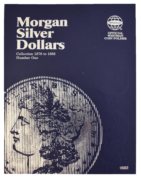 Whitman Morgan Silver Dollar Coin Folder 1878 - 1883